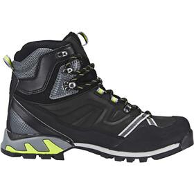 Millet High Route GTX Shoes Herren charcoal/acid green